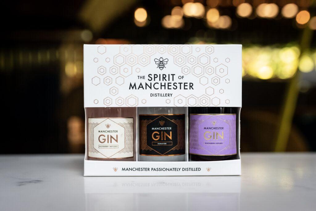 Manchester Gin Miniature Gift Set