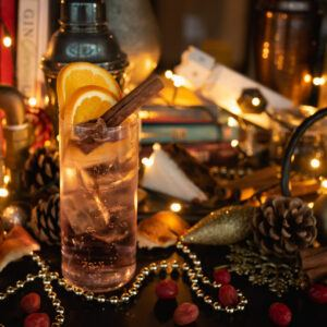 Winter Gin and Tonic Manchester Gin Winter Spiced